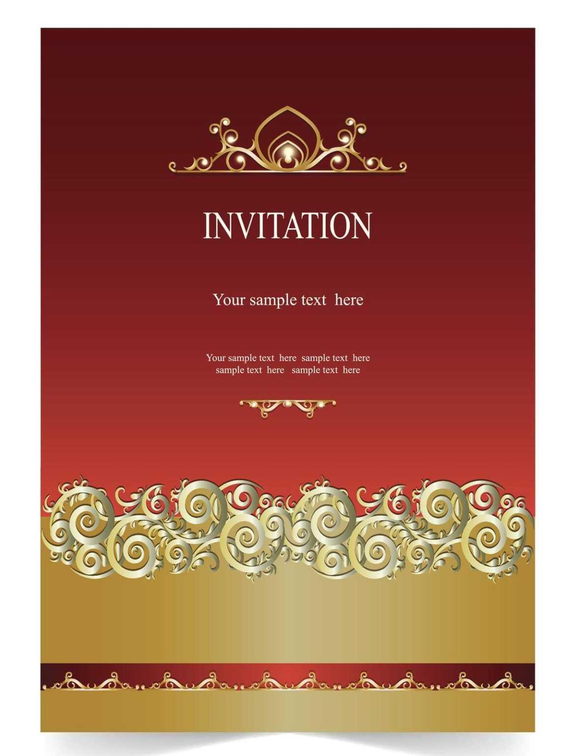 farewell invitation card template  great sample templates