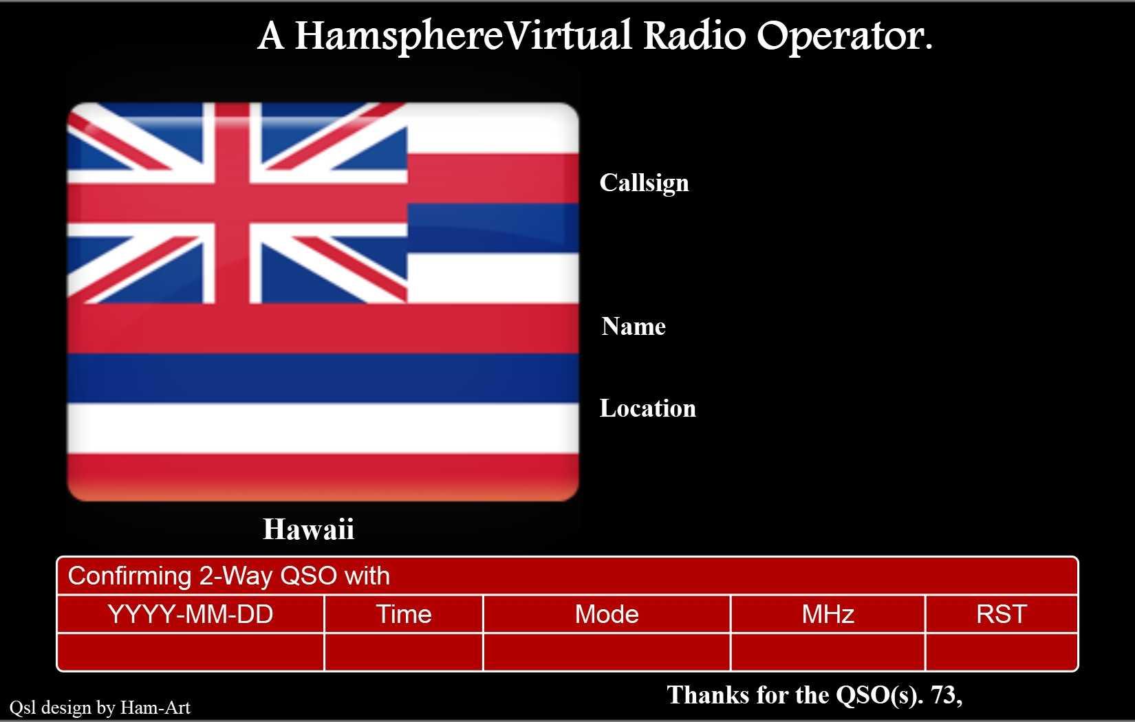 05 | November | 2012 | Kd0Pnp Ham Radio regarding Qsl Card ...