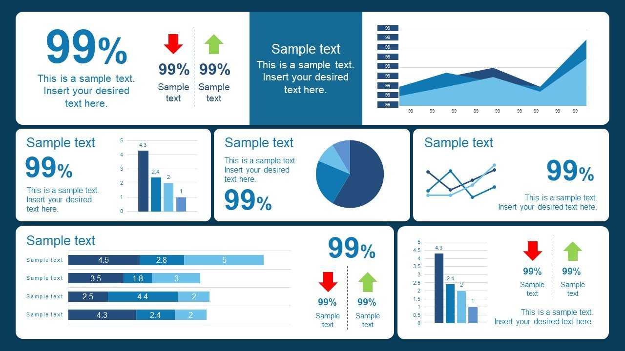 10 Best Dashboard Templates For Powerpoint Presentations With Regard To Free Powerpoint Dashboard Template