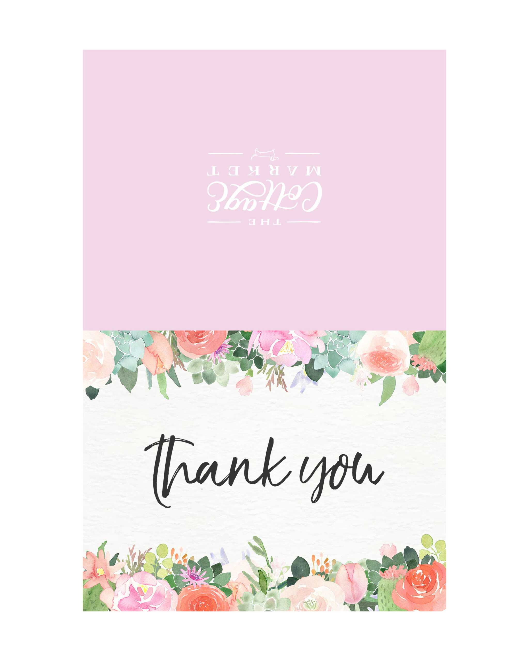 10 Free Printable Thank You Cards You Can't Miss - The For Free Printable Thank You Card Template