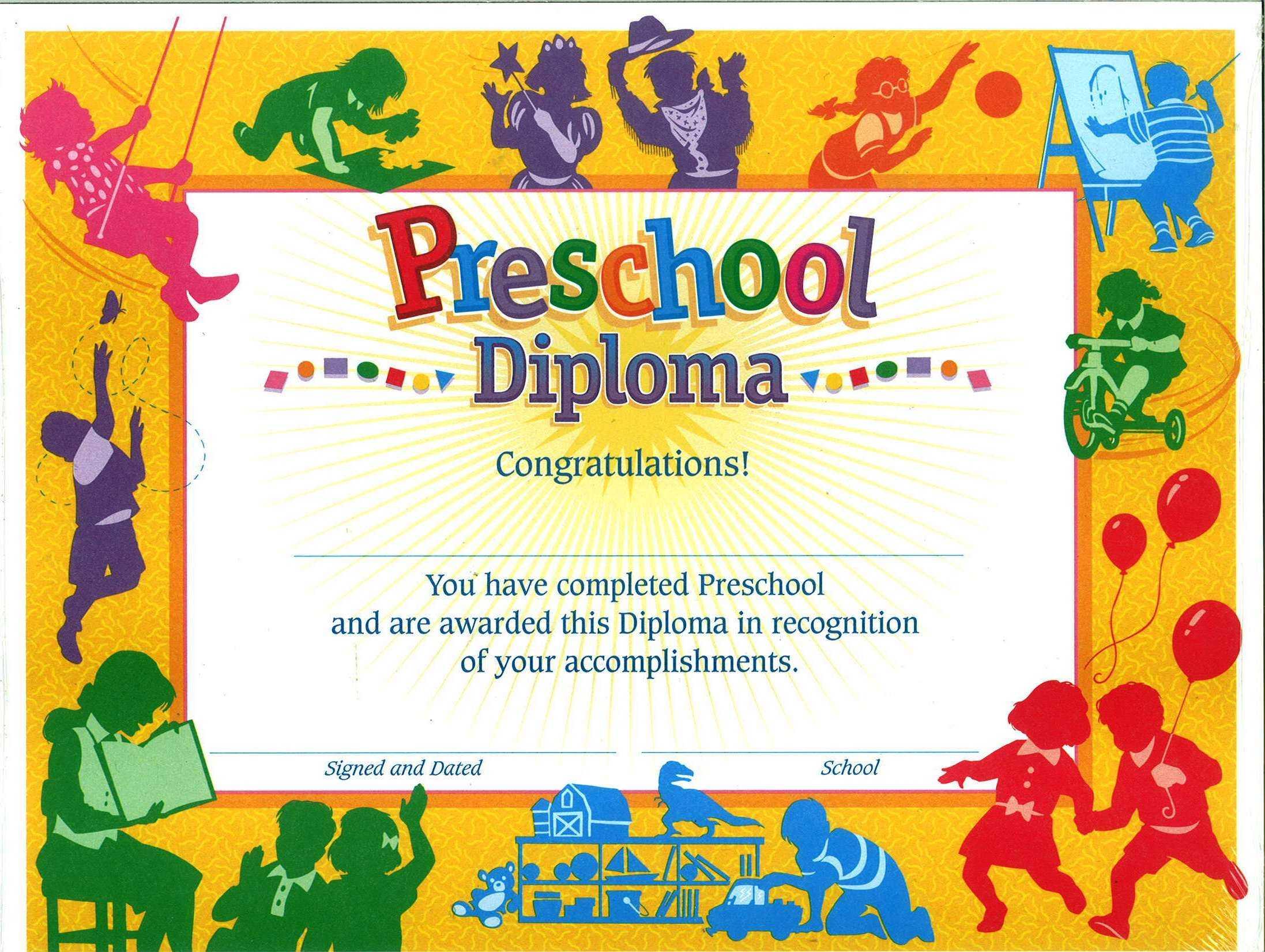 11+ Preschool Certificate Templates – Pdf | Free & Premium Intended For Preschool Graduation Certificate Template Free