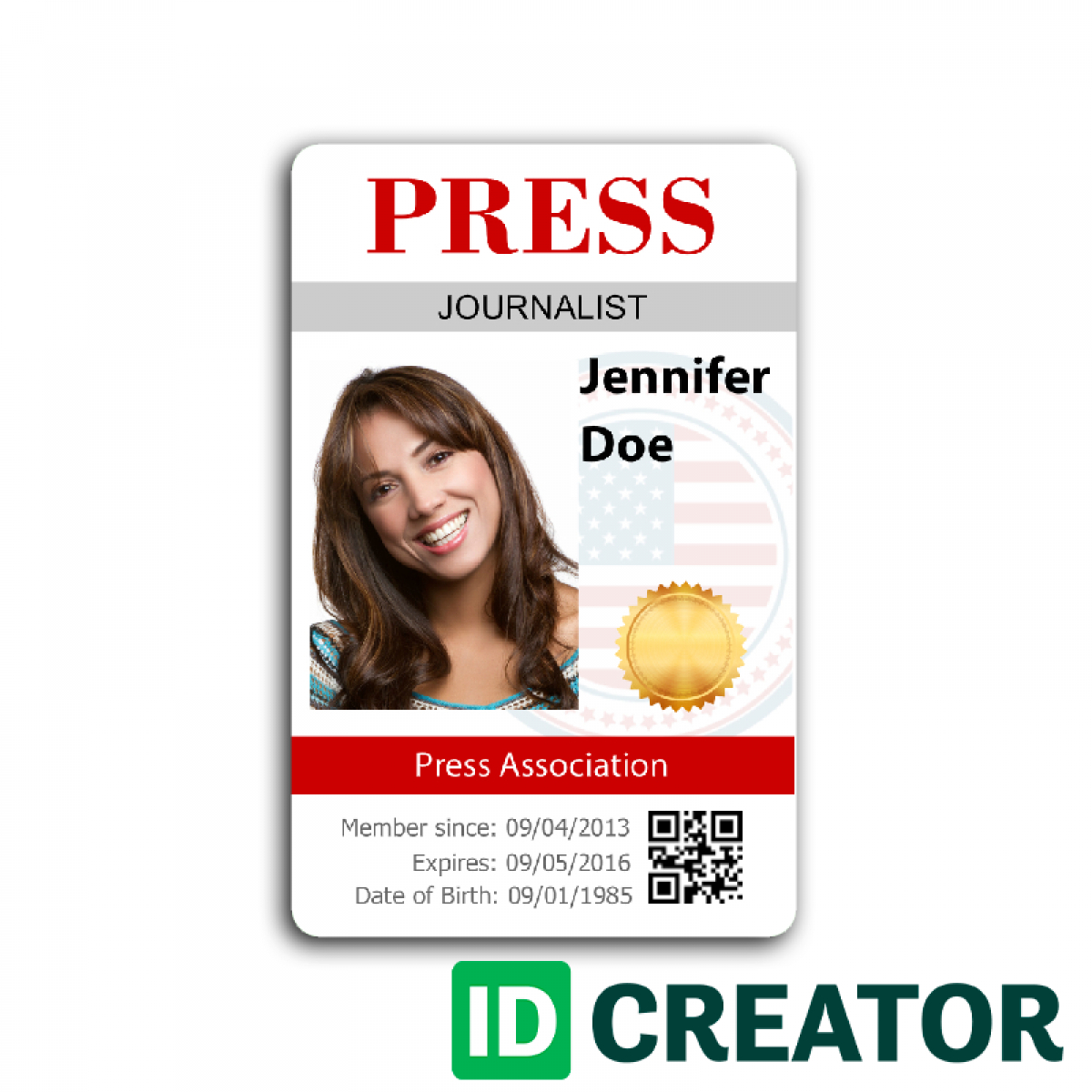 12 Images Of Media Center Passes Template | Vanscapital Intended For Media Id Card Templates