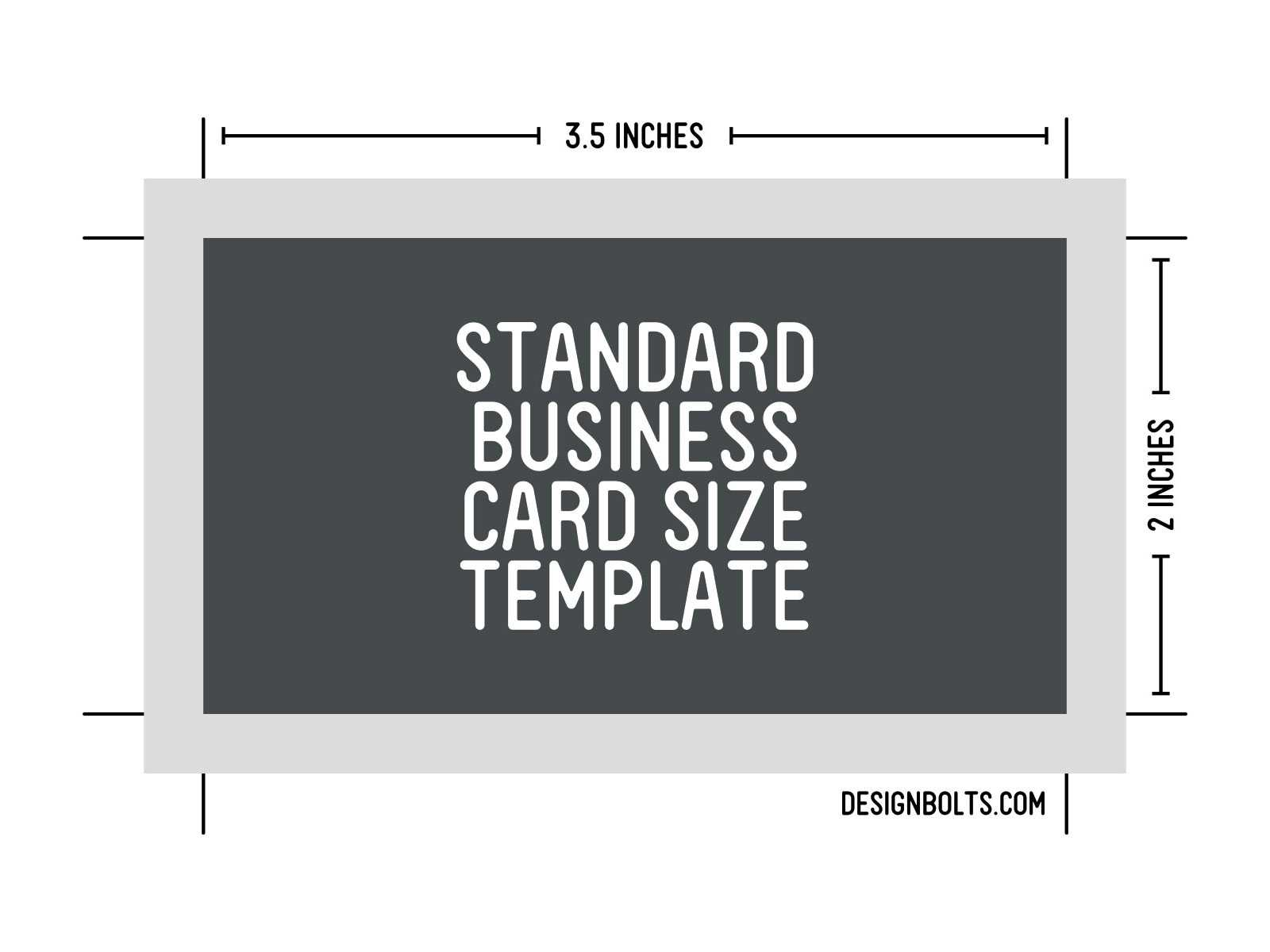 15 Psd Business Card Template Size Images - Standard Pertaining To Business Card Size Template Psd