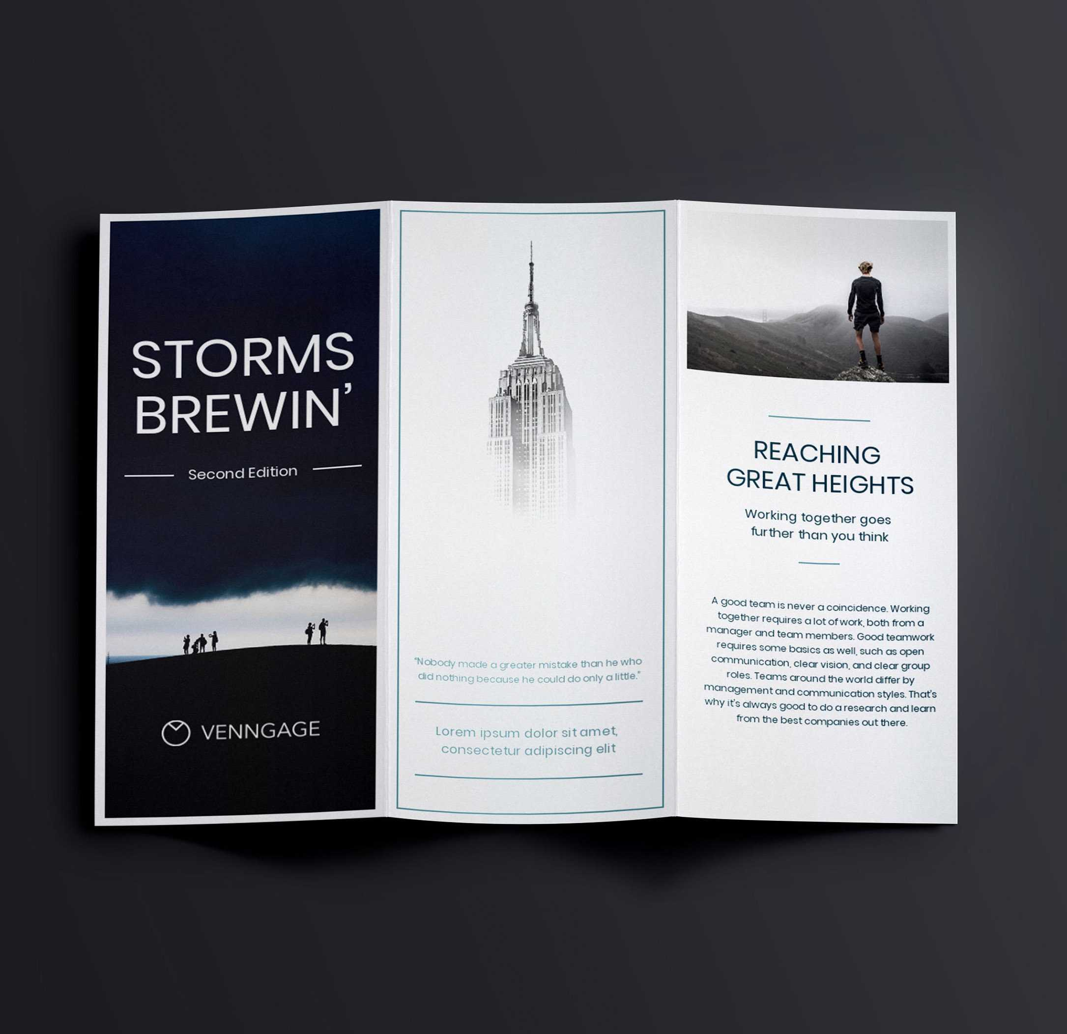 15+ Travel Brochure Examples To Inspire Your Design Regarding Membership Brochure Template