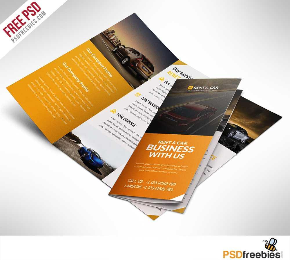 16 Tri Fold Brochure Free Psd Templates: Grab, Edit & Print Inside 3 Fold Brochure Template Psd