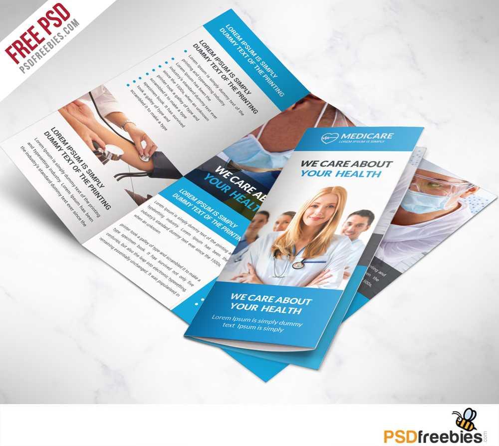 16 Tri Fold Brochure Free Psd Templates: Grab, Edit & Print Throughout 2 Fold Brochure Template Psd