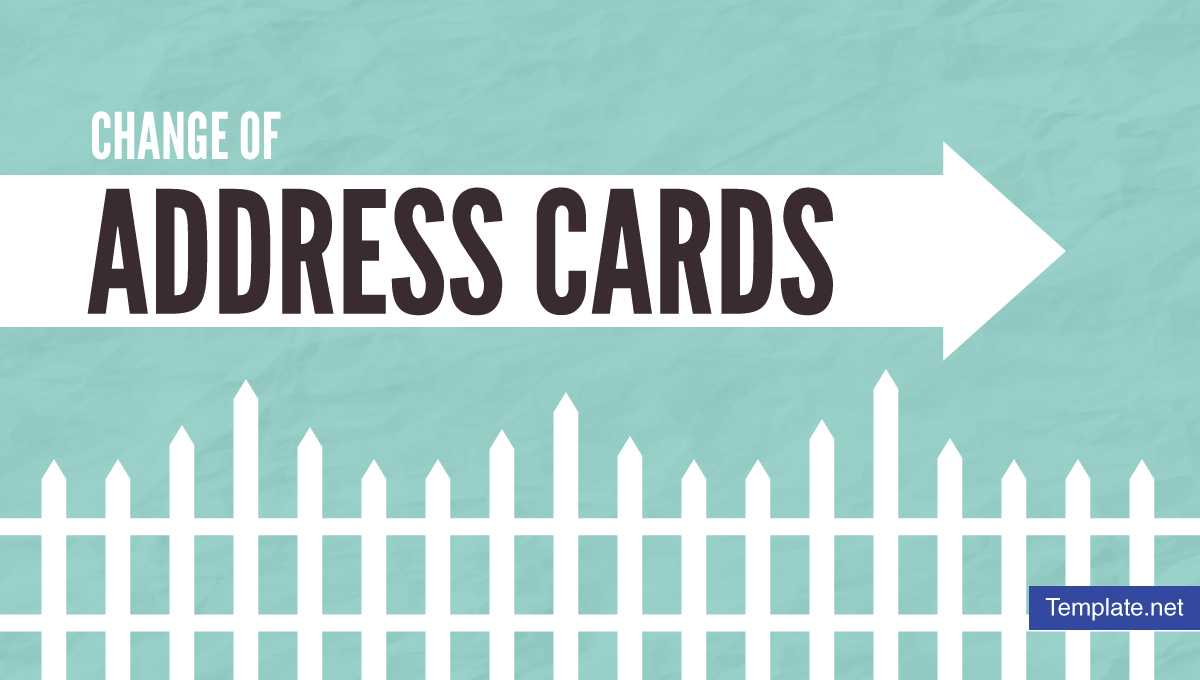 19+ Change Of Address Card Designs & Templates – Psd, Ai Throughout Moving Home Cards Template