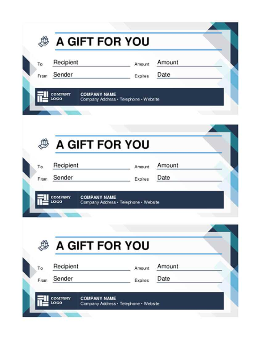 20 Best Free Business Gift Certificate Templates (Ms Word Throughout Company Gift Certificate Template