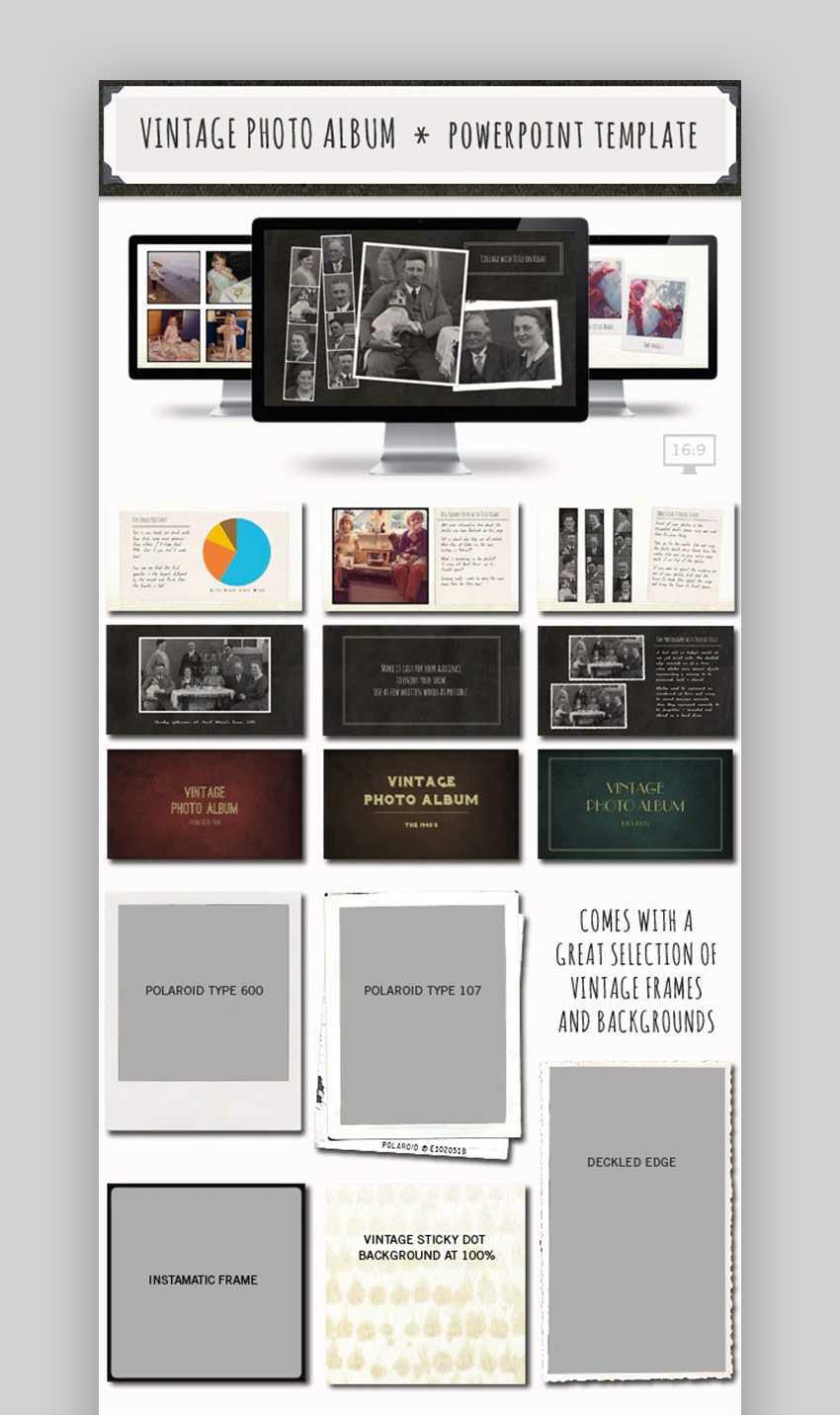 20 Best Free Powerpoint Photo Album & Ppt Slideshow Pertaining To Powerpoint Photo Album Template