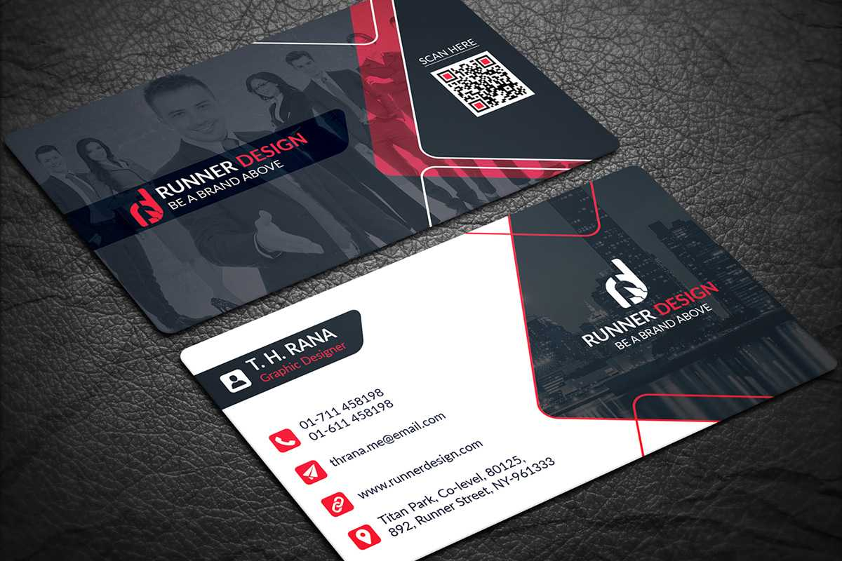 200 Free Business Cards Psd Templates - Creativetacos With Regard To Name Card Template Psd Free Download