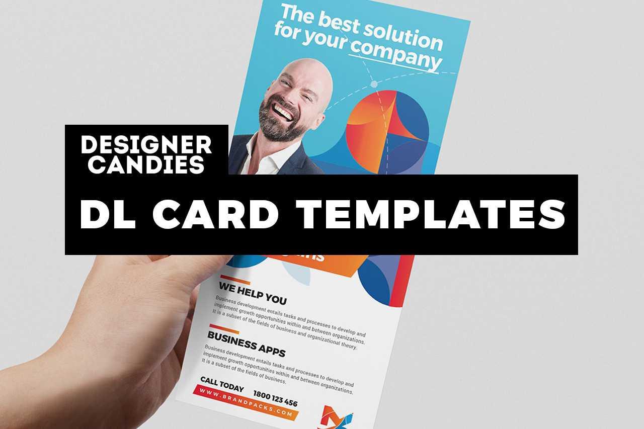 24+ Dl Card Templates For Photoshop & Illustrator Regarding Dl Card Template
