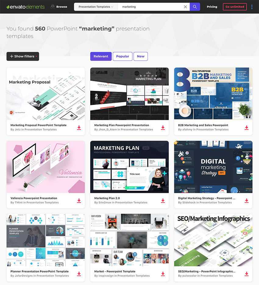 25 Marketing Powerpoint Templates: Best Ppts To Present Your In Strategy Document Template Powerpoint