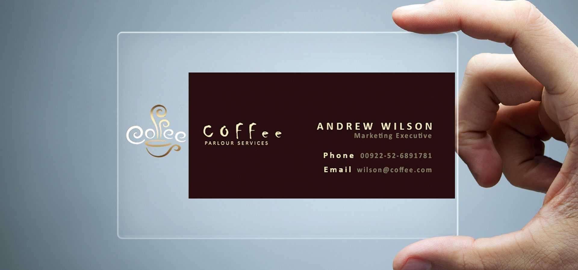 26+ Transparent Business Card Templates - Illustrator, Ms Regarding Transparent Business Cards Template