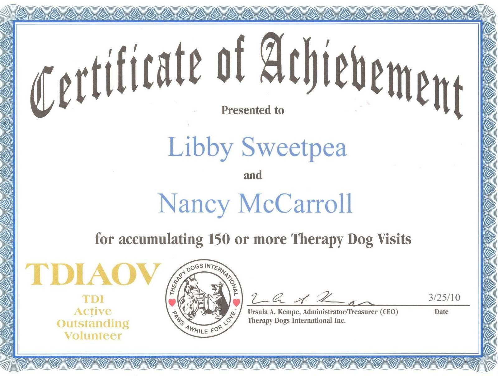 27 Images Of Service Dog Certificate Template Free   Gieday For Service Dog Certificate Template