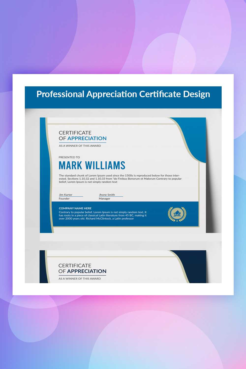28 Attention Grabbing Certificate Templates - Colorlib With Regard To No Certificate Templates Could Be Found