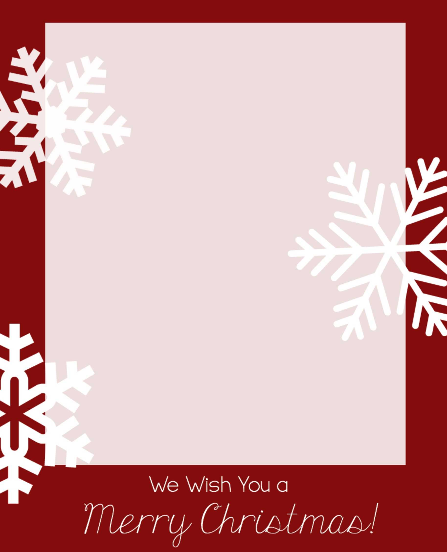 28+ [ Photo Christmas Card Templates Free Download With Regard To Diy Christmas Card Templates