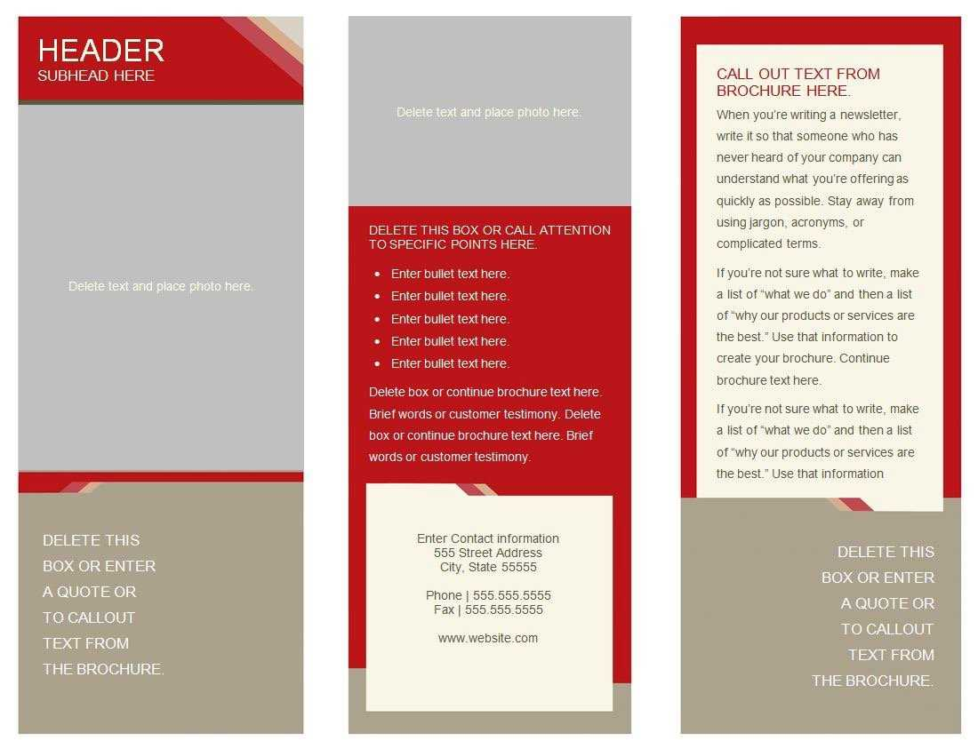 30 Google Docs Flyer Template | Andaluzseattle Template Example With 6 Panel Brochure Template