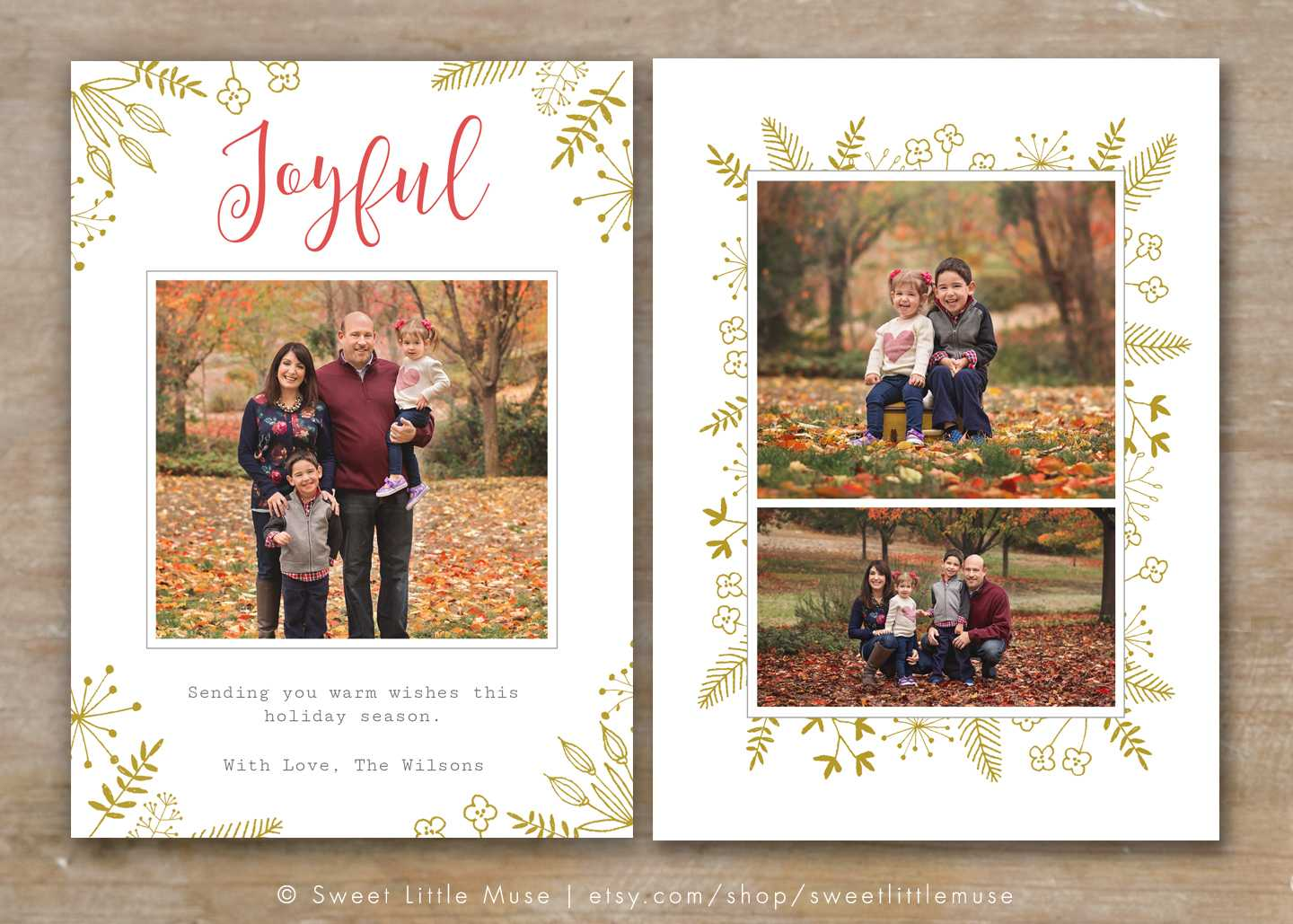 30 Holiday Card Templates For Photographers To Use This Year Regarding Holiday Card Templates For Photographers