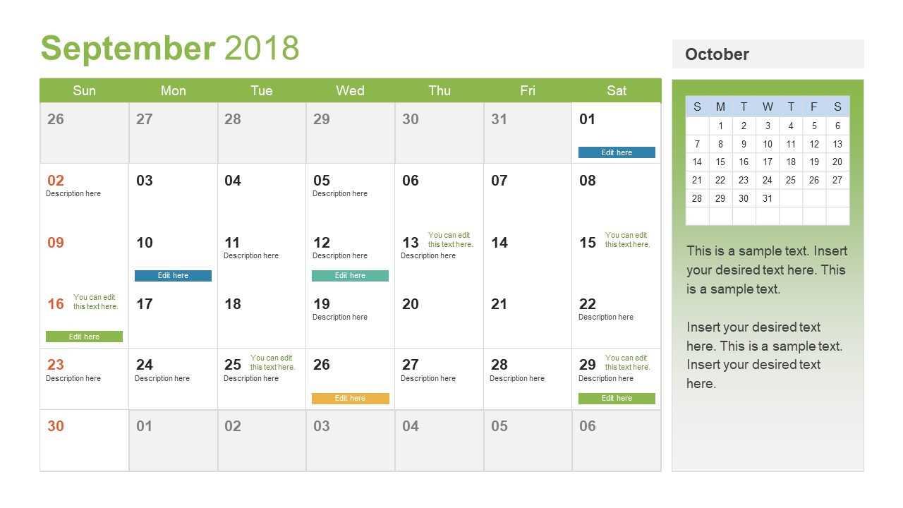 30 Power Point Calendar Template   Andaluzseattle Template For Microsoft Powerpoint Calendar Template