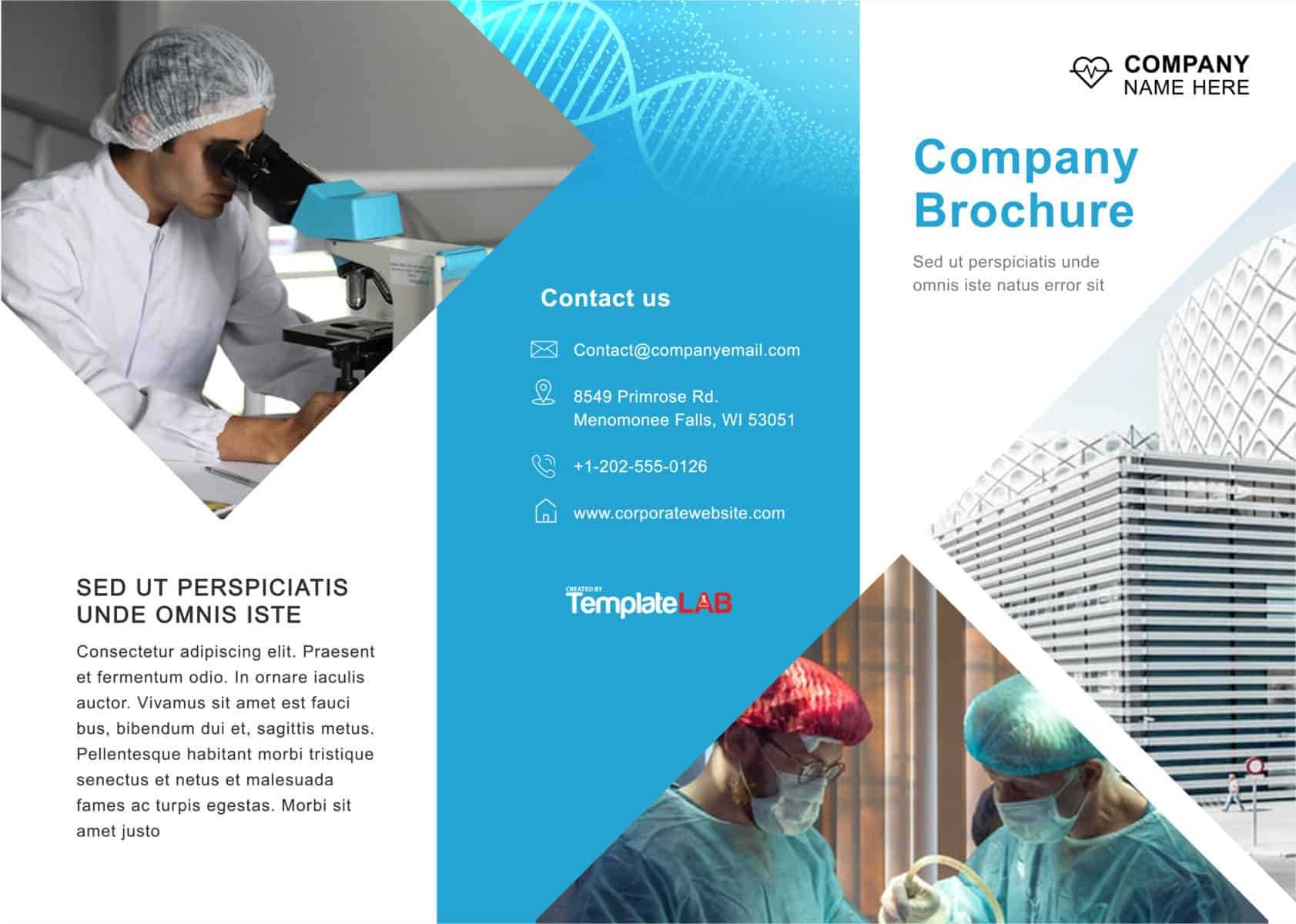33 Free Brochure Templates (Word + Pdf) ᐅ Template Lab In Engineering Brochure Templates Free Download