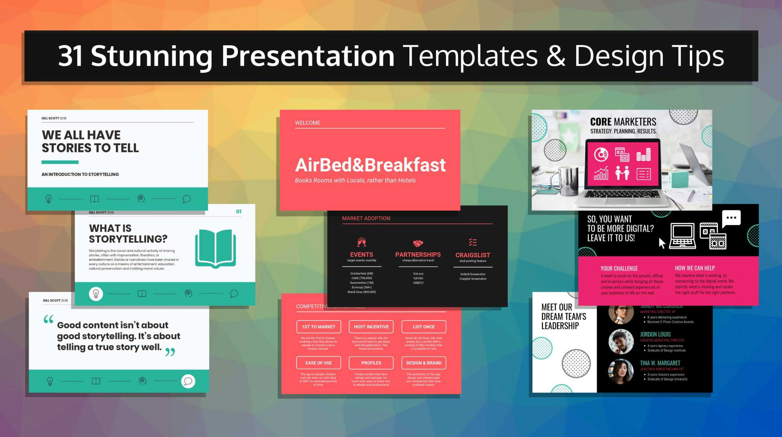 33 Stunning Presentation Templates And Design Tips Throughout How To Design A Powerpoint Template