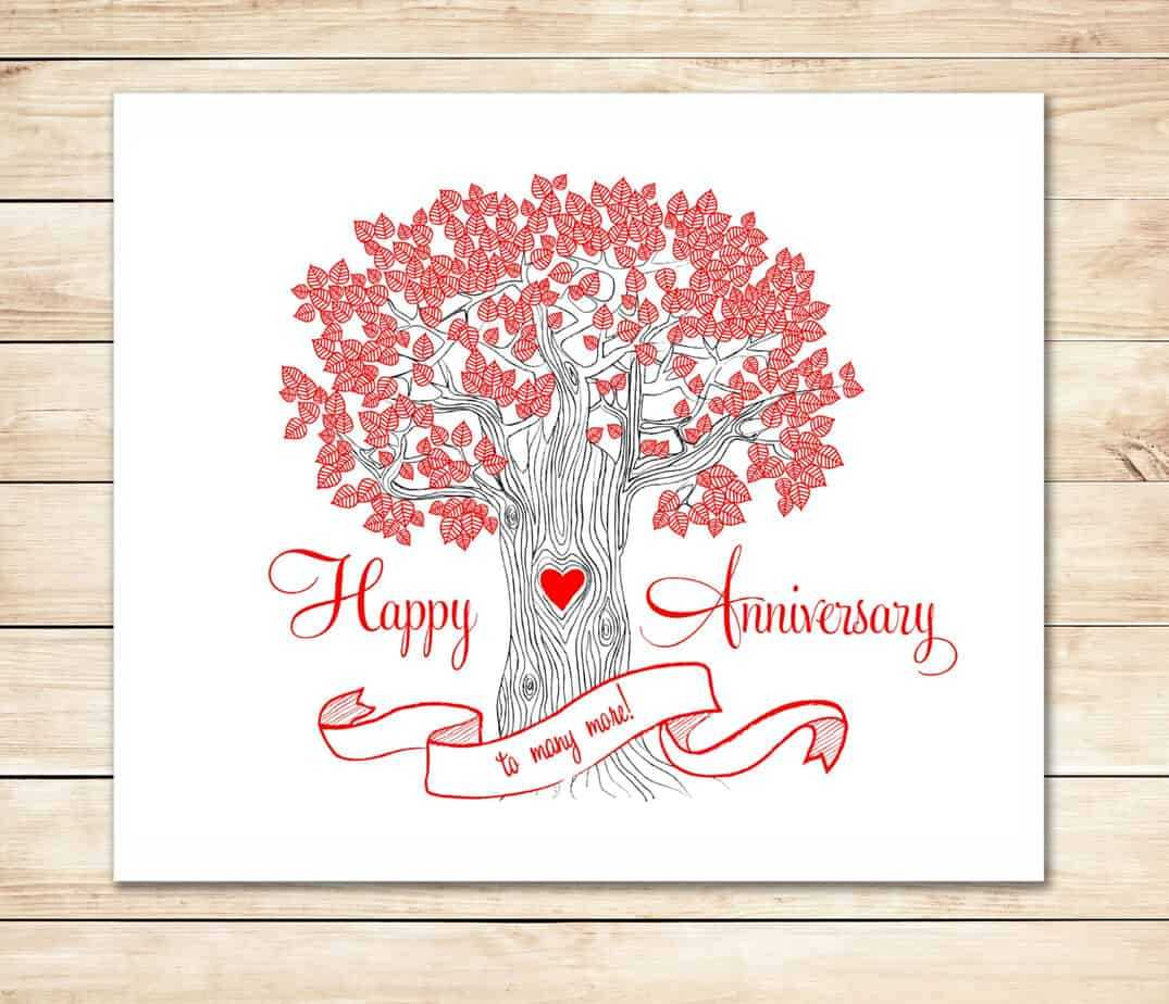 39+ Free Anniversary Card Templates In Word Excel Pdf Throughout Anniversary Card Template Word