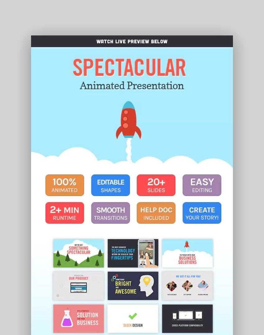 40+ Best Free & Premium Animated Powerpoint Templates With Intended For Powerpoint Presentation Animation Templates