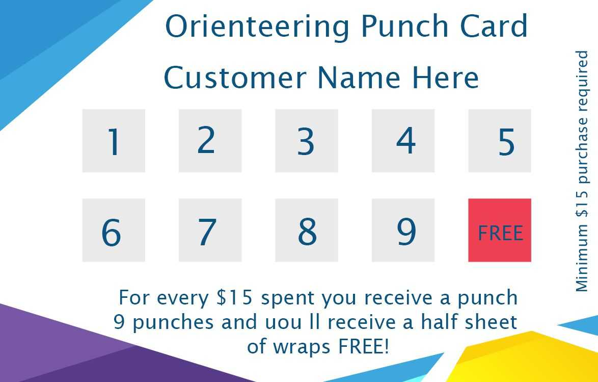 50+ Punch Card Templates – For Every Business (Boost Throughout Business Punch Card Template Free