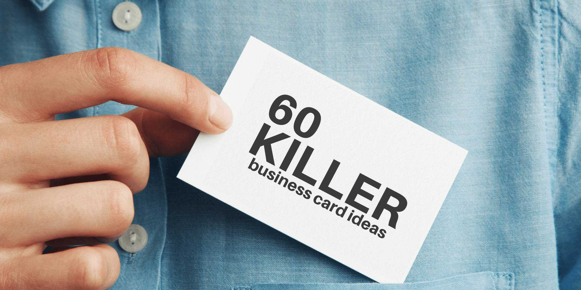 60 Modern Business Cards To Make A Killer First Impression Throughout Freelance Business Card Template