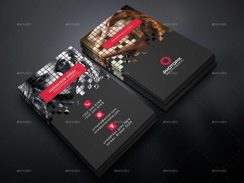 65+ Best Business Card For Photographers 2016 | Designmaz In Photography Business Card Template Photoshop