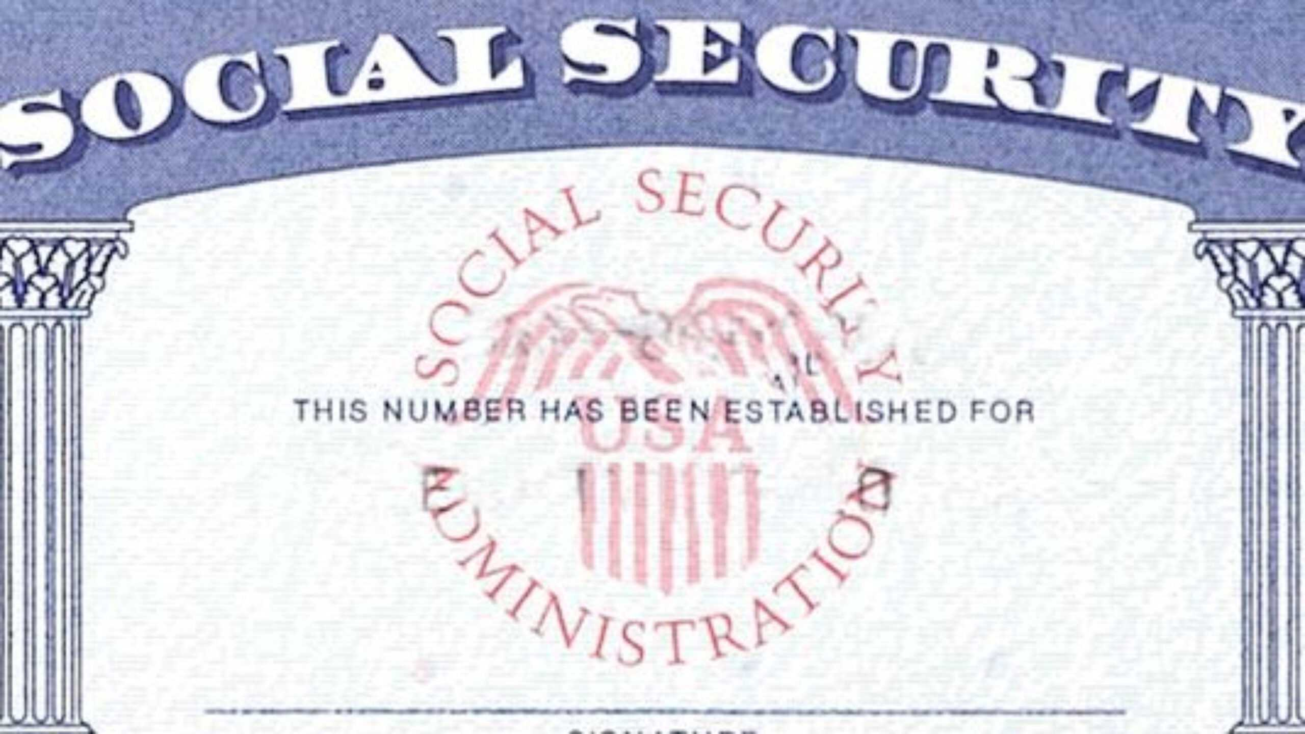 7 Social Security Card Template Psd Images - Social Security Intended For Blank Social Security Card Template Download