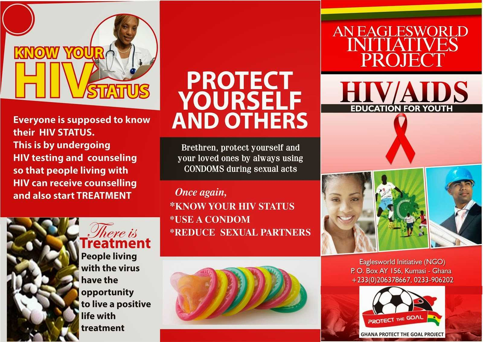 8 Best Photos Of Hiv Brochure Template - Hiv Aids Brochure For Hiv Aids Brochure Templates
