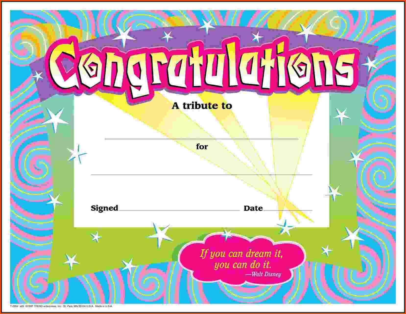 8+ Congratulations Template | Survey Template Words For Congratulations Certificate Word Template