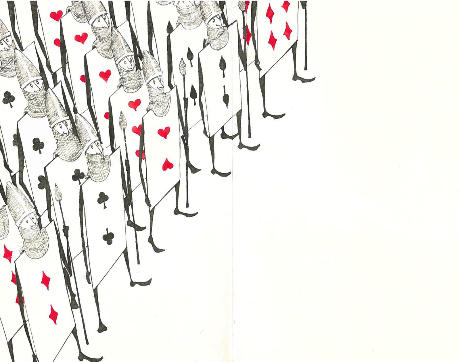Alice In Wonderland Card Soldiers Template ] - Alice In For Alice In Wonderland Card Soldiers Template