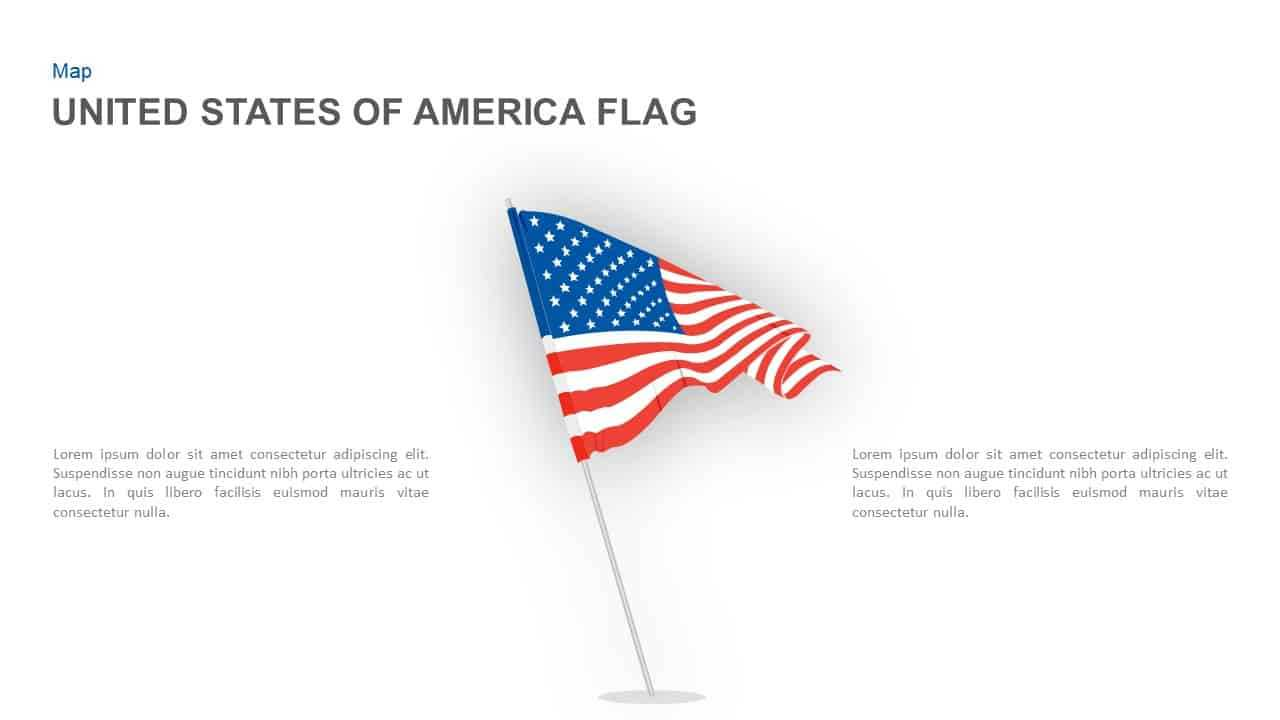 American Flag Powerpoint Template And Keynote Slide Within American Flag Powerpoint Template