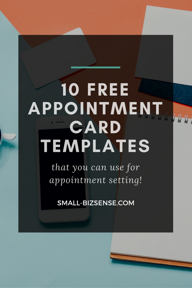 Appointment Card Template: 10 Free Resources For Small Within Medical Appointment Card Template Free