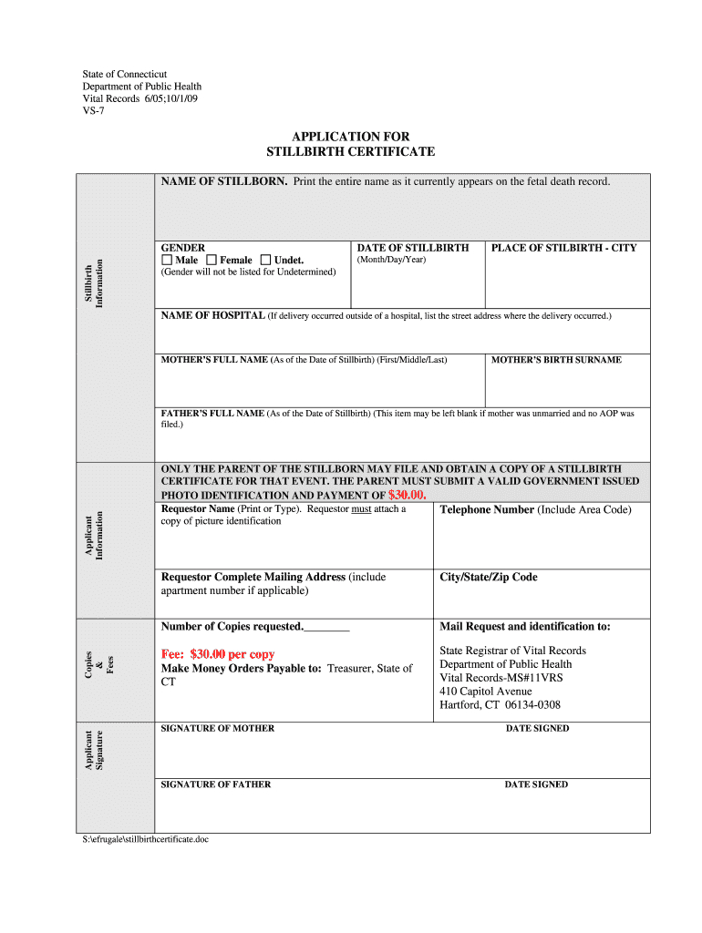 Baby Death Certificate Template - Fill Online, Printable Regarding Baby Death Certificate Template