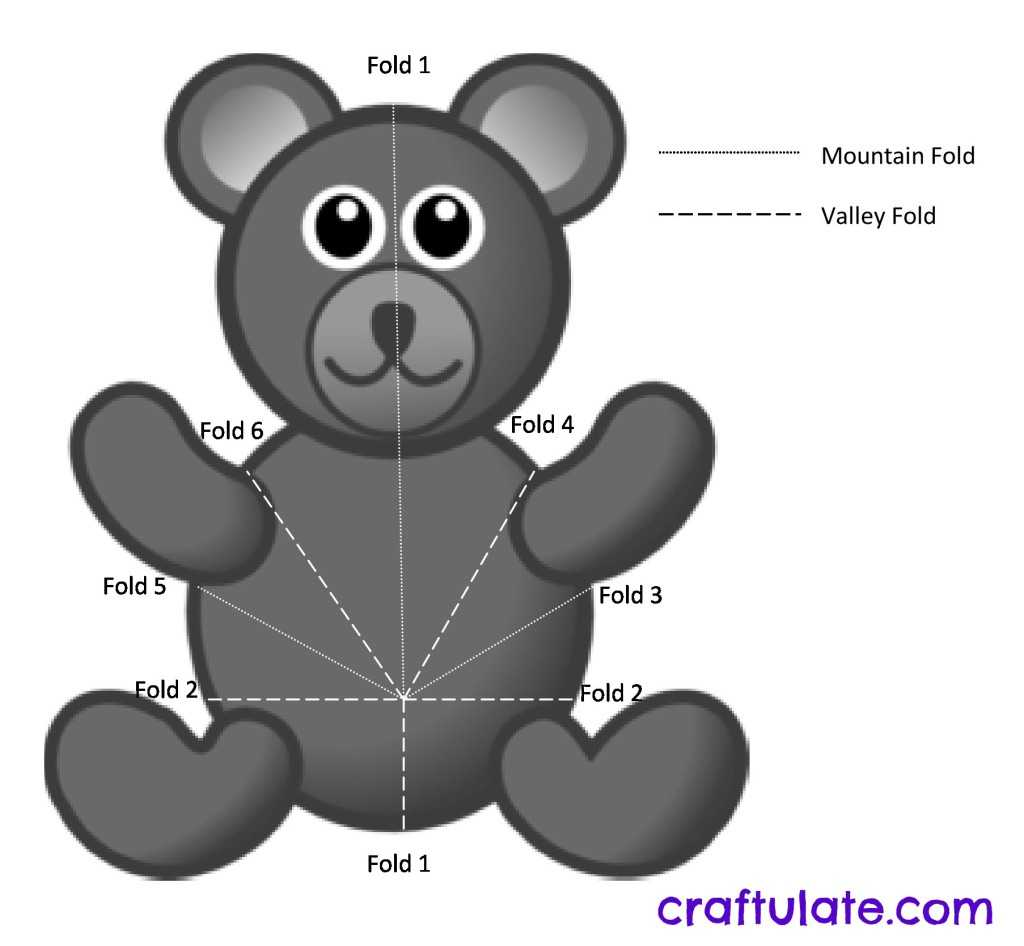 Bear Pop Up Card Tutorial - Craftulate Throughout Teddy Bear Pop Up Card Template Free