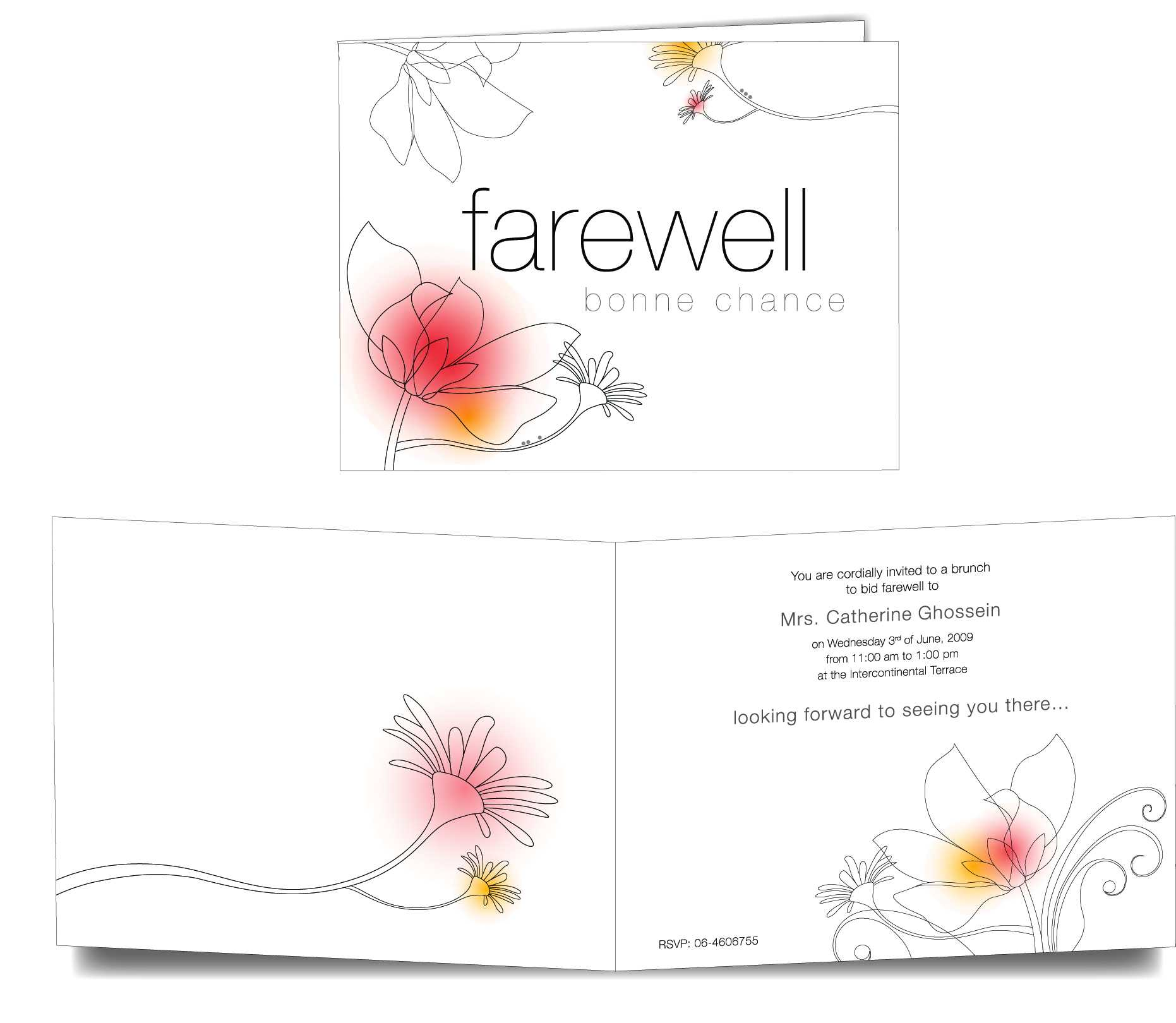Best 44+ Farewell Background Designs On Hipwallpaper For Farewell Card Template Word