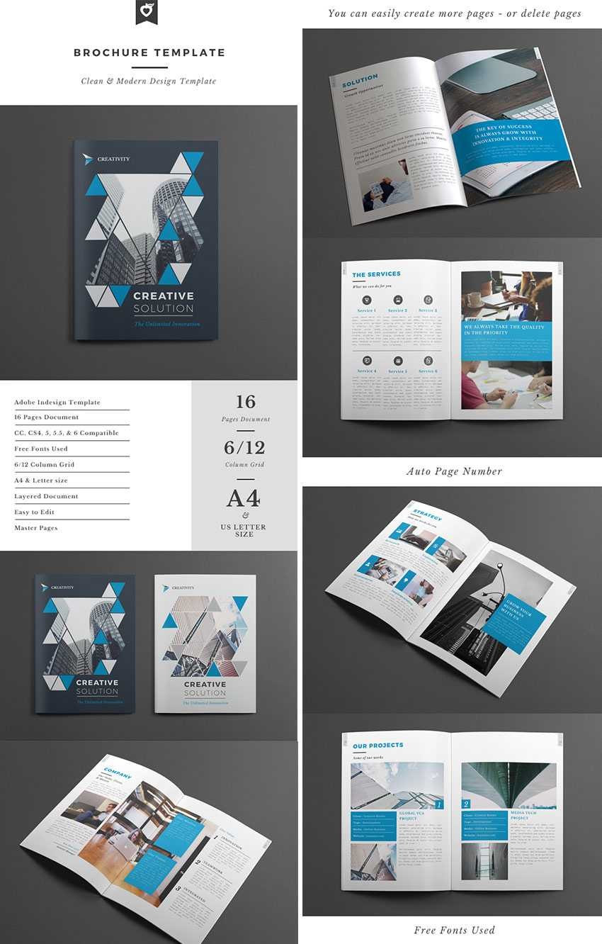 Best Design Brochure Templates For Creative Business Plan Intended For Brochure Templates Free Download Indesign