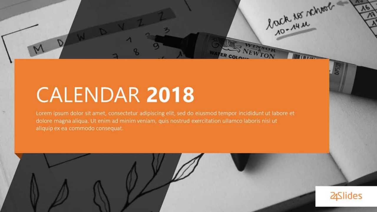 Best Free Powerpoint Calendar Templates On The Internet Inside Microsoft Powerpoint Calendar Template