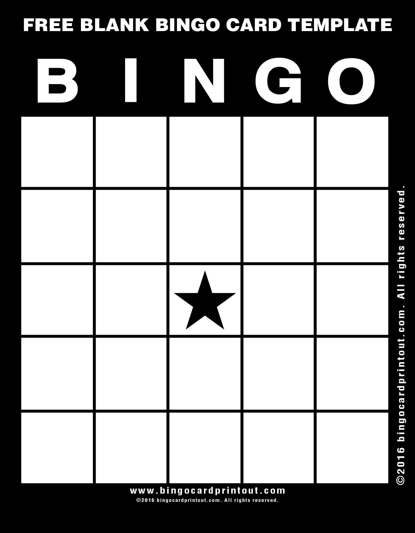 Bingo Template Free ] - Blank Bingo Template 15 Free Psd Intended For Bingo Card Template Word