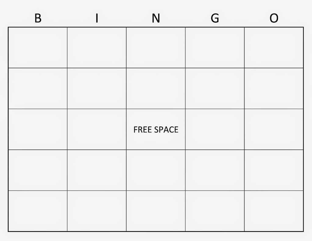 Blank Bingo Template Word | Sample Cv English Resume Inside Bingo Card Template Word