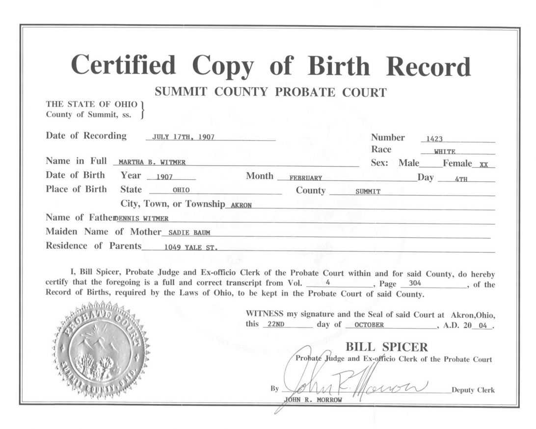 Blank Birth Certificate Printable Form Mississippi Ms Bd Pdf Intended For Official Birth Certificate Template