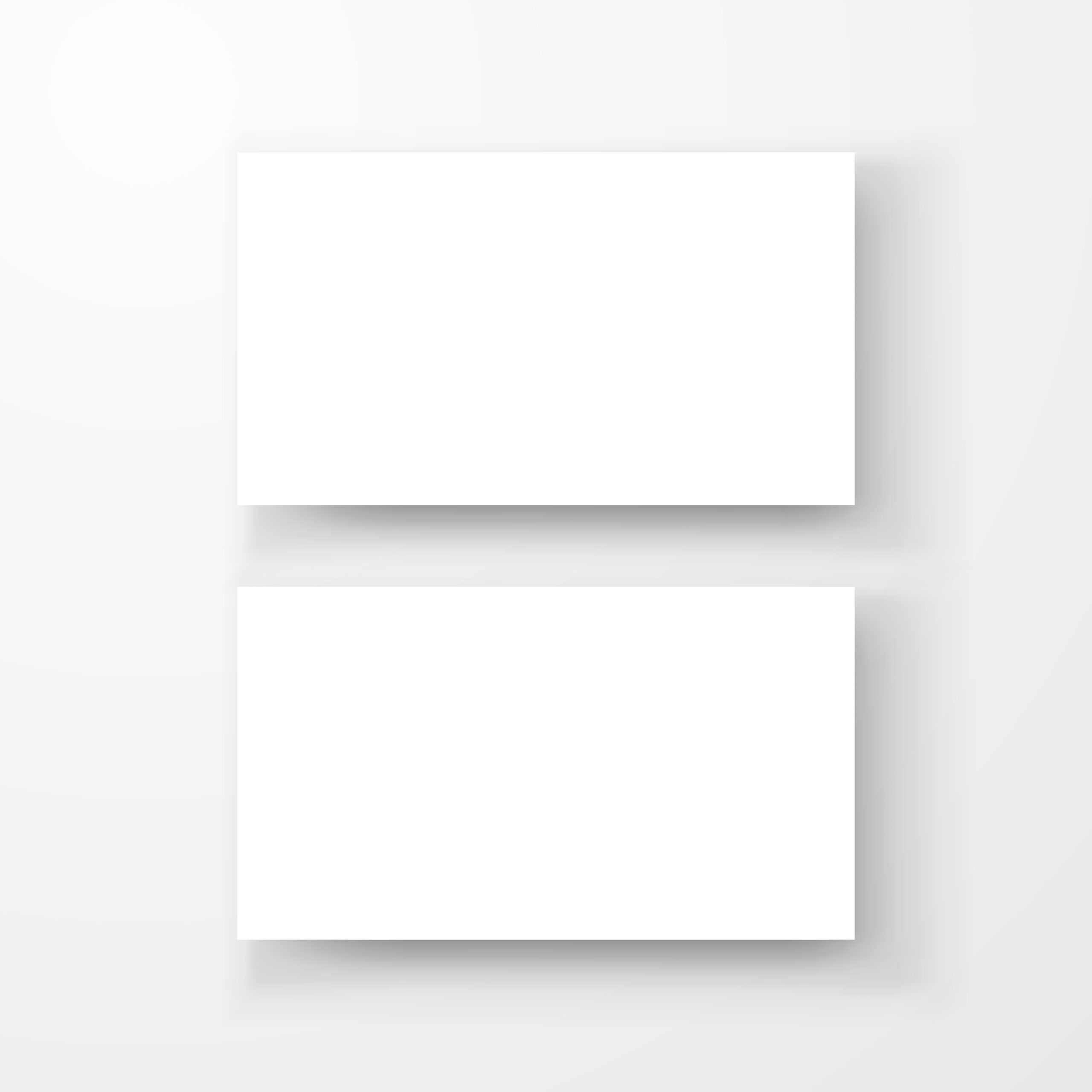 Blank Business Card Mockup Template Createdvector For Plain Business Card Template