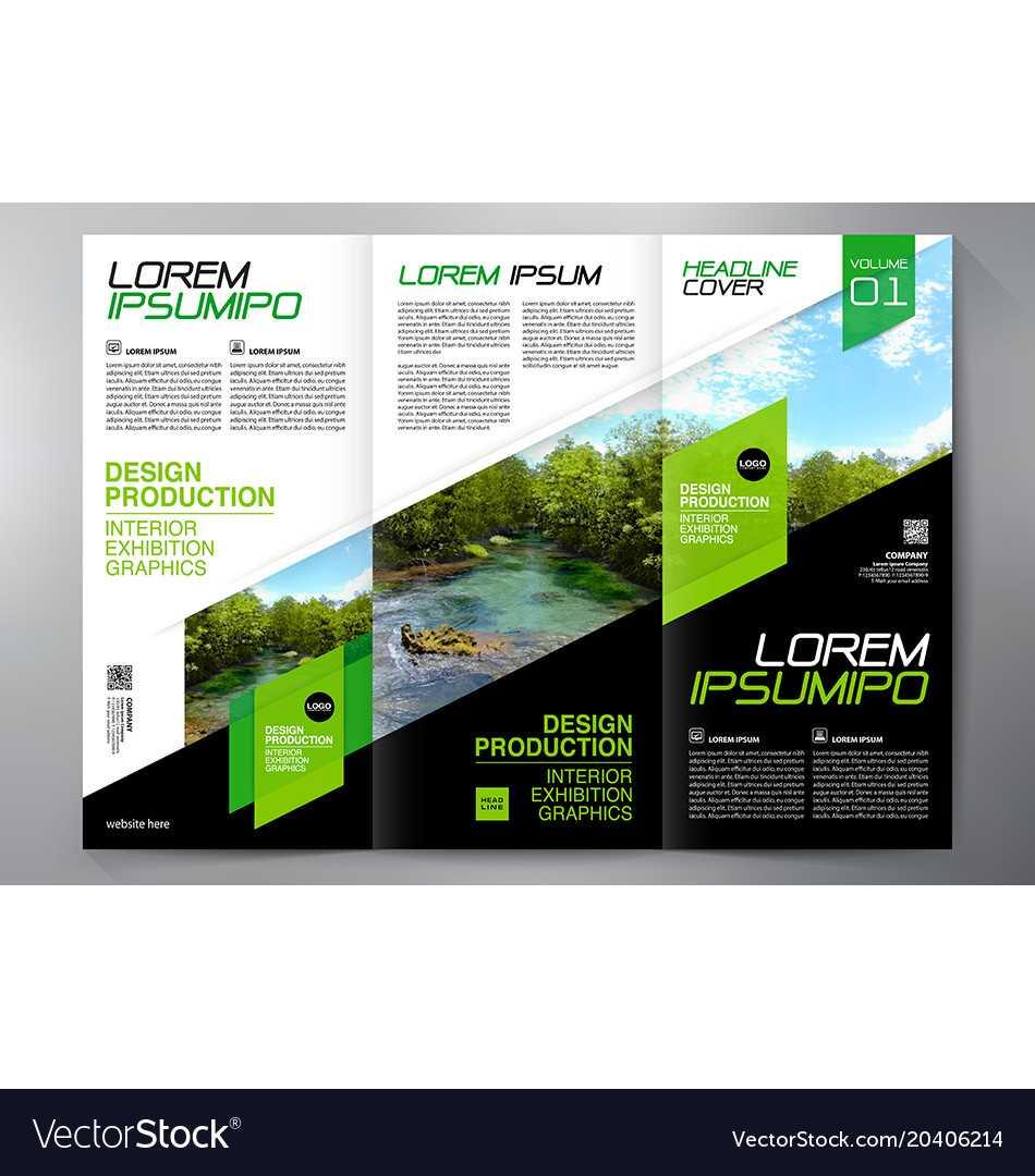 Brochure 3 Fold Flyer Design A4 Template With E Brochure Design Templates