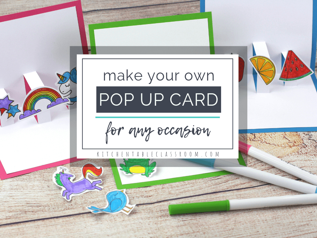 Build Your Own 3D Card With Free Pop Up Card Templates – The Pertaining To Diy Pop Up Cards Templates