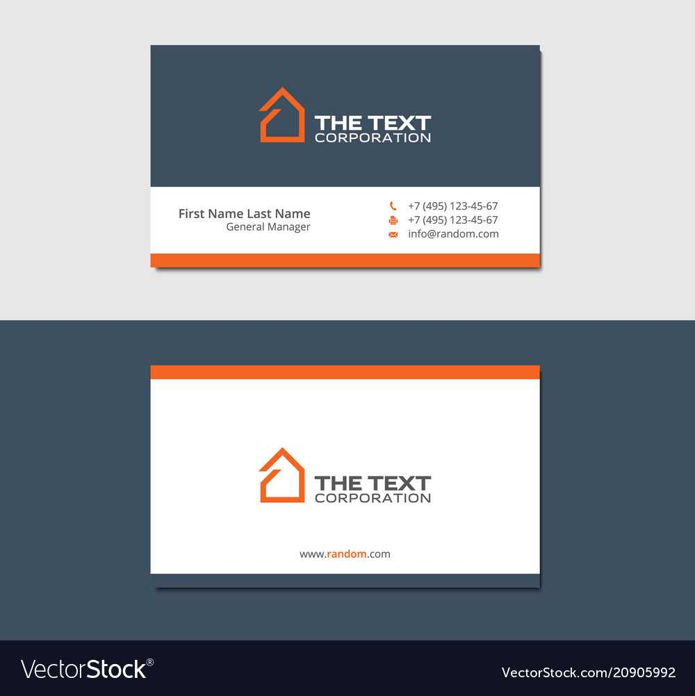 Business Cards Template For Real Estate Agency In Real Estate Business Cards Templates Free