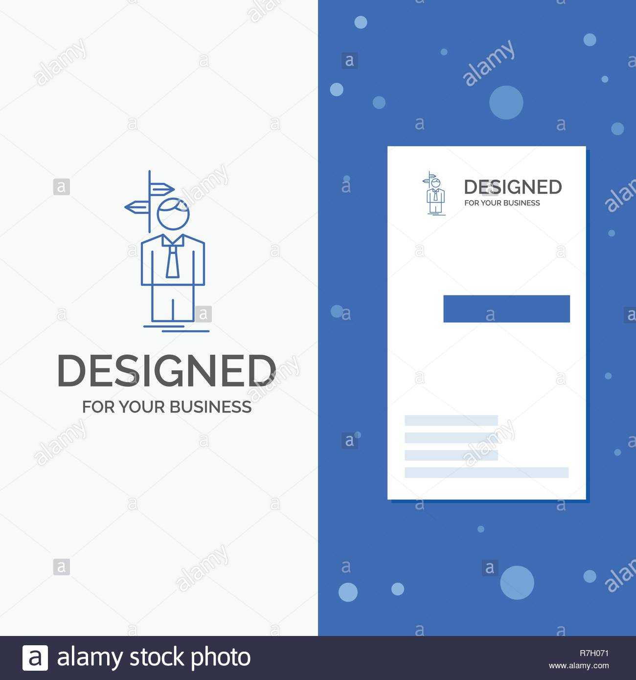 Business Logo For Arrow, Choice, Choose, Decision, Direction Intended For Decision Card Template