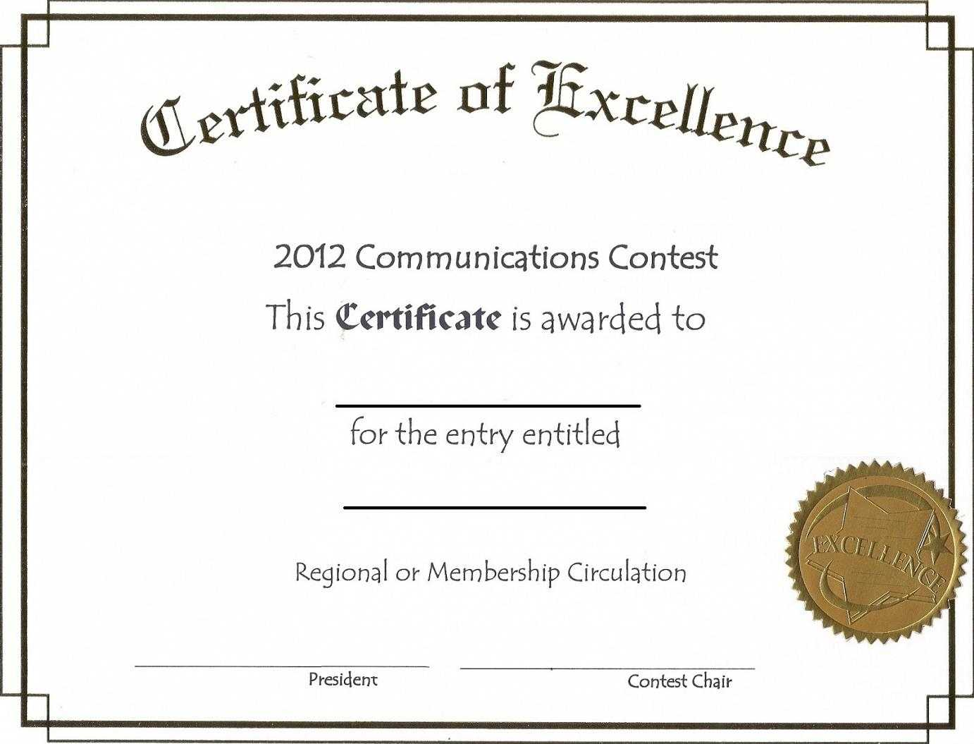Business Pdf Award Certificate Template With Regard To Sample Award Certificates Templates